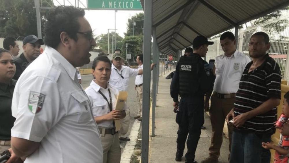 Han ingresado a México unos 380 migrantes de caravana - Han ingresado a México unos 380 migrantes de caravana