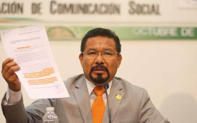 Cipriano Charrez impugna suspensión de sus derechos de Morena - Solicitud de desafuero contra Charrez es por homicidio doloso