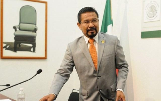 Sección Instructora desafuera a diputado Cipriano Charrez - Cipriano Charrez en Cámara de Diputados. Foto de Internet