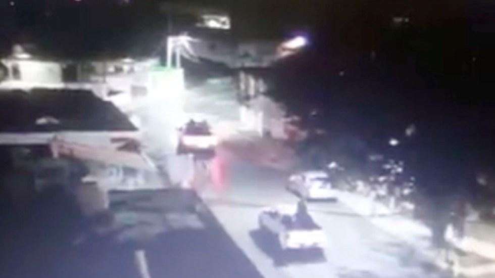 #Video Grupo armado recorre calles de Naucalpan