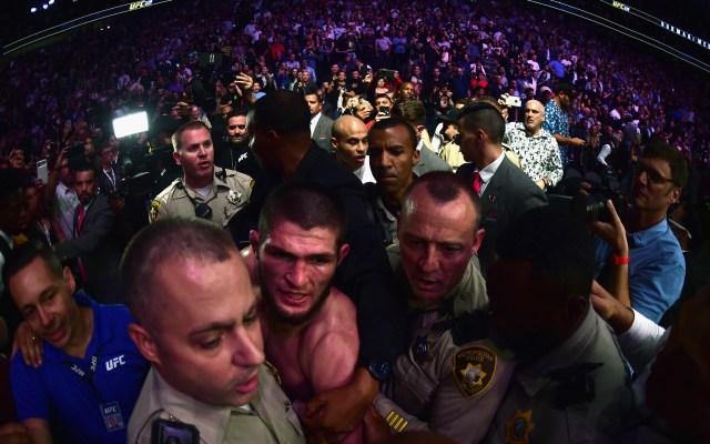 Khabib podría ser multado y suspendido tras pelea con McGregor - Foto de Harry How/GETTY IMAGES NORTH AMERICA/AFP