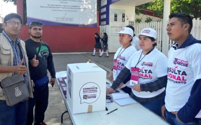 Los resultados de la consulta del NAIM son claros: Calderón Alzati - calderón alzati defendió los resultados de la consulta sobre el nuevo aeropuerto