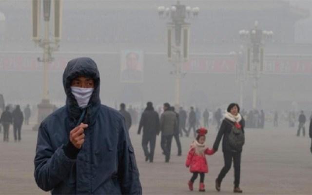 Contaminación del aire disminuye esperanza de vida de los niños: estudio - Contaminación del aire podría detonar cáncer bucal. Foto de Internet