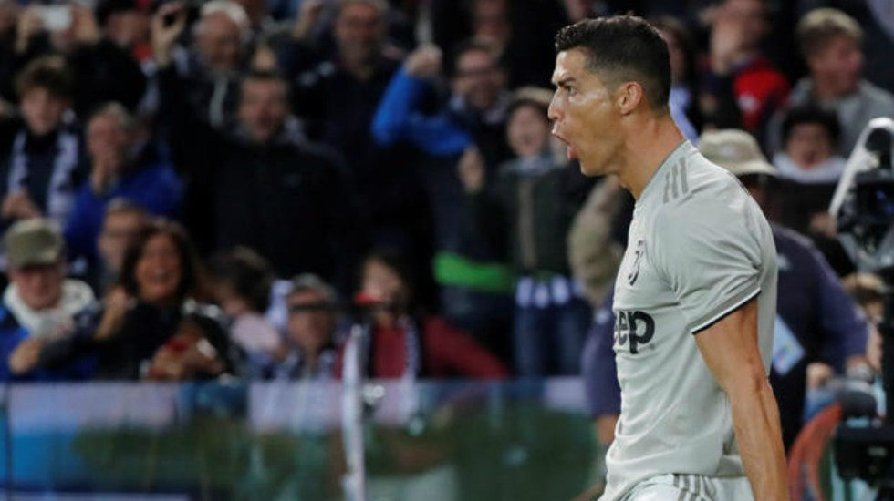 #Video Cristiano Ronaldo anota en victoria de la Juventus - Foto de Reuters