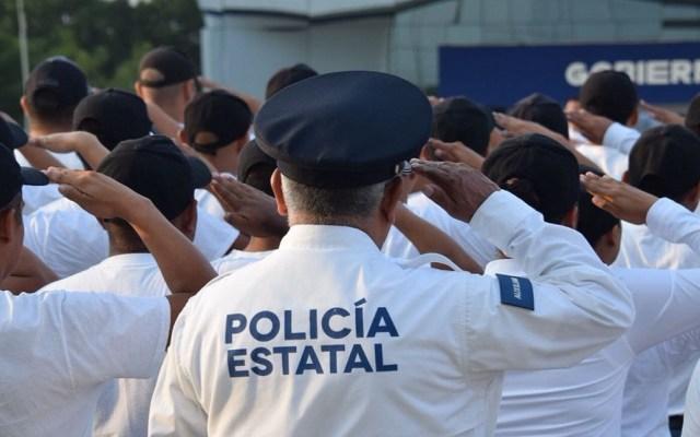 Dan de baja a 90 policías estatales de Tamaulipas - Policías Estatales de Tamaulipas. Foto de @SSP_GobTam