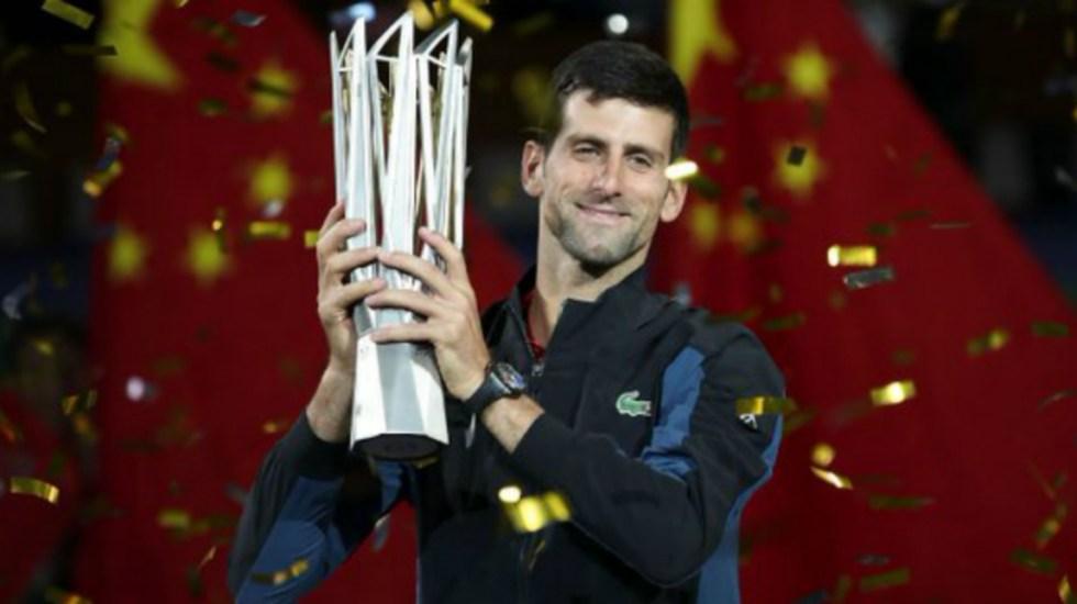 Djokovic gana el Masters 1000 de Shanghai - Novak Djokovic gana el Masters 1000 de Shanghai