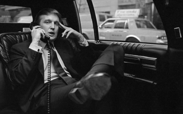 Trump arremete contra New York Times por acusación de evasión fiscal - Donald Trump en 1985. Foto de The New York Times
