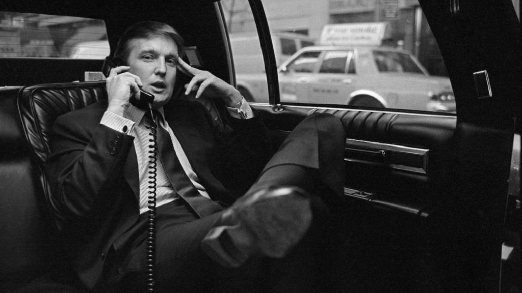Donald Trump en 1985. Foto de The New York Times