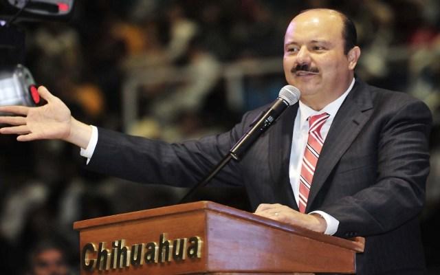 PRI suspende derechos políticos a César Duarte - César Duarte. Exgobernador de Chihuahua. Foto de Internet