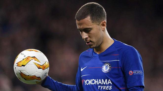 Hazard afirmó que es su sueño jugar en el Madrid
