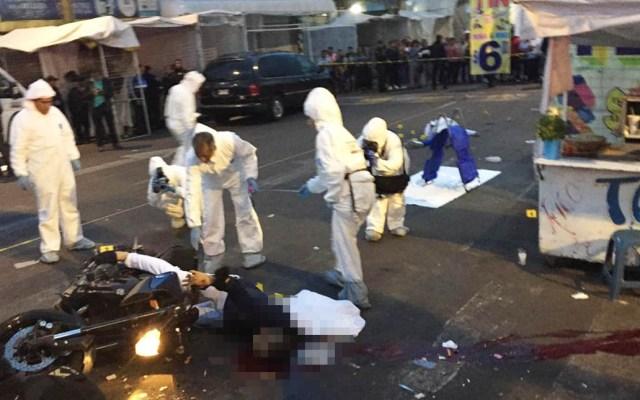 Ejecutan en balacera a dos jóvenes en Tepito - Foto de Twitter