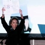 Yo tengo el liderazgo de los maestros: Elba Esther Gordillo - Foto de Notimex