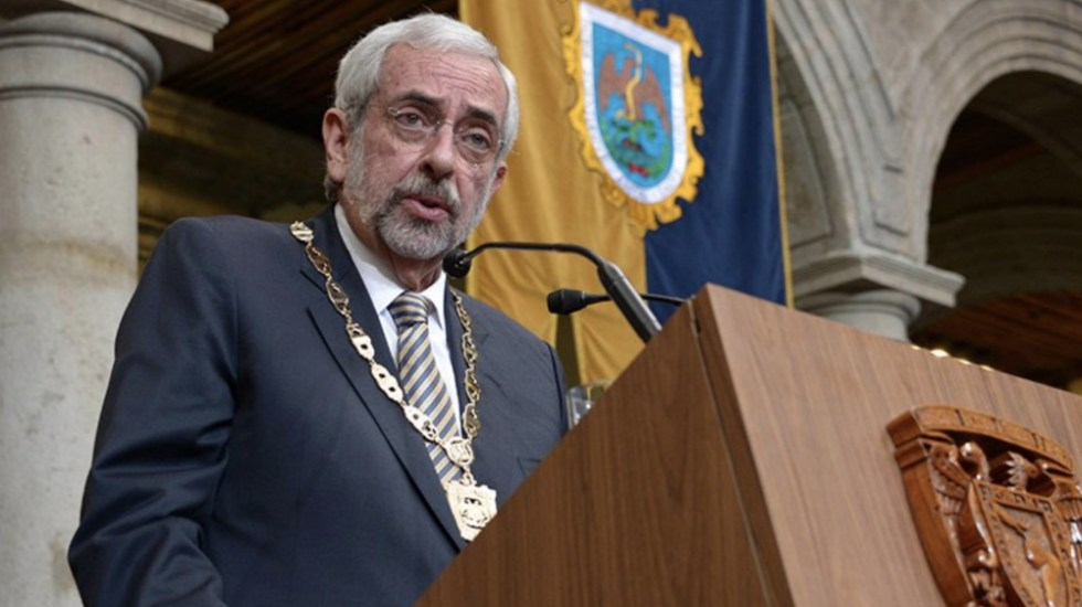 Nombran al rector Enrique Graue patrono del Instituto Cervantes - Foto de @SalaPrensaUNAM