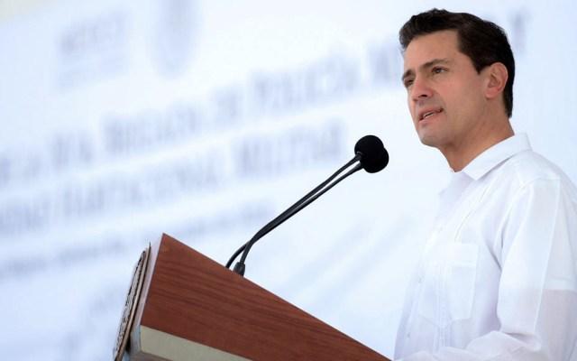 Descarta INE tener elementos para investigar recursos de Odebrecht en campaña electoral de EPN - Enrique Peña Nieto durante su Presidencia. Foto de Presidencia