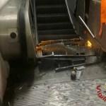Varios heridos por fallo de escalera eléctrica en Roma - heridos por colapso de escalera eléctrica en el metro de roma
