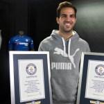 Cesc Fábregas logra Récord Guinness por sus asistencias en la Premier - Foto de @cesc4official