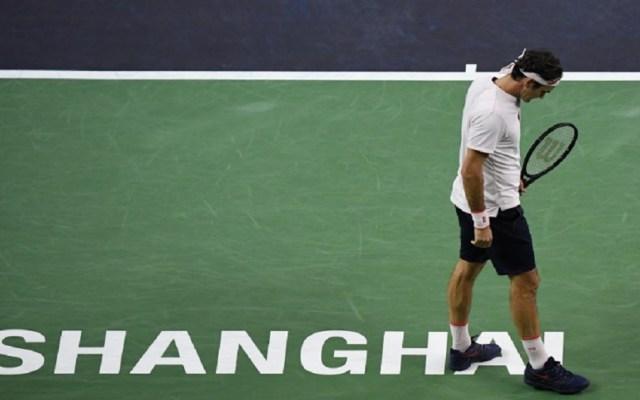 Federer cae ante Coric en semifinales del Masters de Shanghai - Foto de AFP