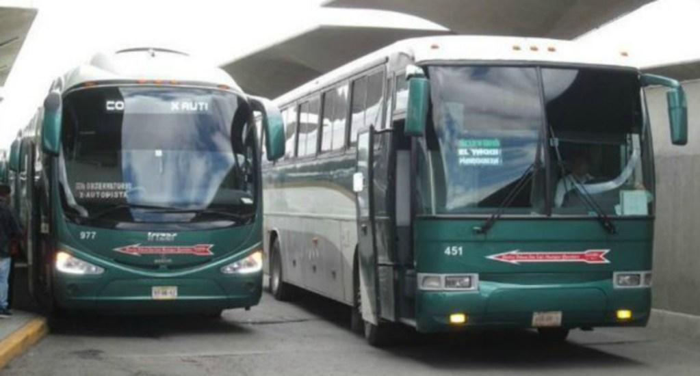 Flecha Roja suspende corridas en el Edomex por secuestro de autobuses - Al menos 40 autobuses de la línea flecha roja fueron secuestrados por normalistas