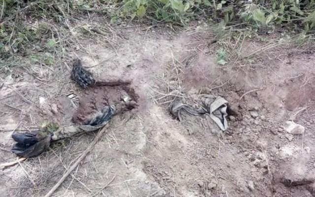 Exhuman 19 cuerpos de fosa clandestina en Lagos de Moreno - Cuerpos