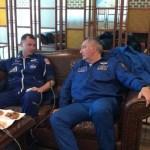 Astronautas narran cómo vivieron el lanzamiento fallido del cohete Soyuz - Hague y Ovchinin evaluados médicamente tras aterrizaje de emergencia. Foto de NASA