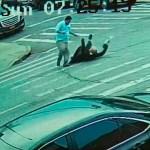 #Video Hombre golpea a judío en Nueva York