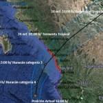 Prevén que Willa impacte México como huracán categoría 3 - Foto de Conagua Clima