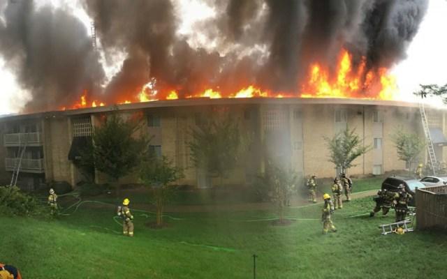 Arrestan en EE.UU. a mujer que provocó incendio tras discutir con novio - Foto de Prince George's County Fire Department