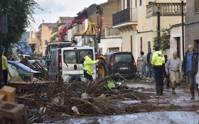 Inundaciones en Mallorca dejan diez personas muertas - Afectaciones por inundaciones en Mallorca, España. Foto de EFE