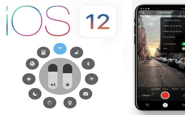 Cómo aprovechar al máximo la actualización iOS 12 de Apple - Actualización iOS 12 de Apple. Foto de Internet