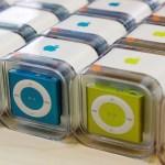 iPod cumple 17 años - Versión del iPod en colores. Foto de Internet