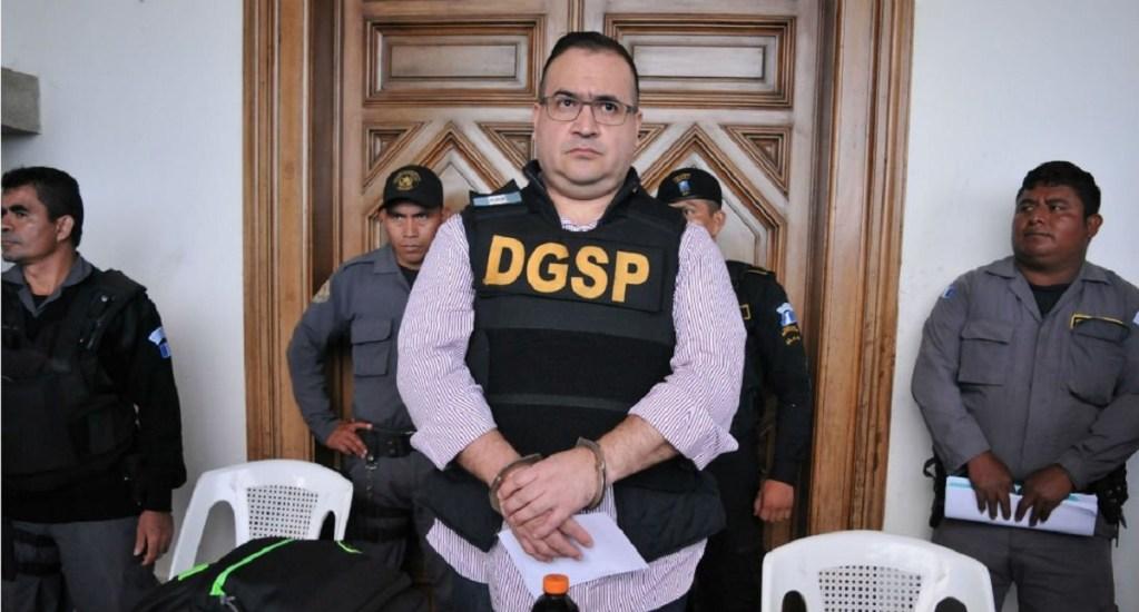 Niegan amparo a Javier Duarte por peculado - Foto de archivo