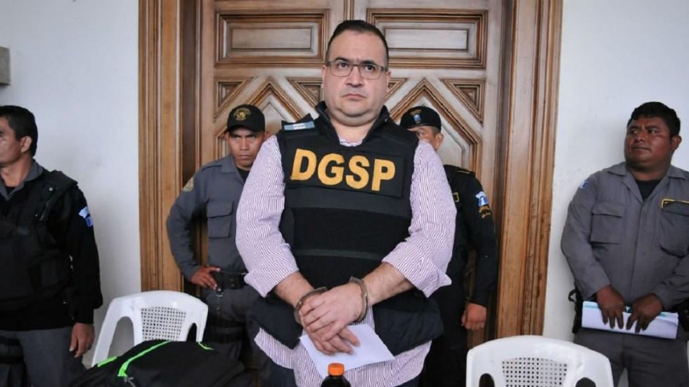 Javier Duarte impugna su sentencia ante un juez federal - Foto de archivo