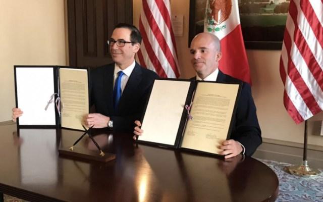 México amplía línea de crédito con EE.UU.: González Anaya - México acuerda con EE.UU. triplica ampliación de línea de crédito: Anaya