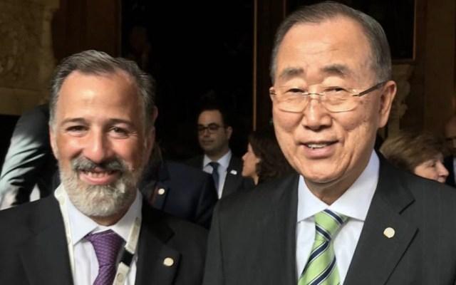 Meade destaca esfuerzos de México para combatir el cambio climático - Foto de @JoseAMeadeK
