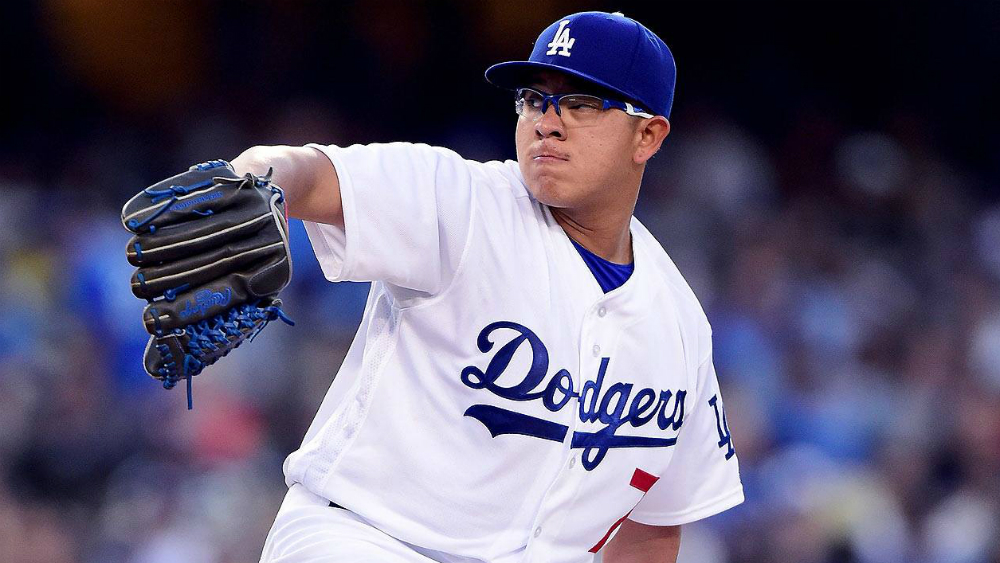 Dodgers oficializa inclusión de Julio Urías para Serie Mundial - Foto de MLB México