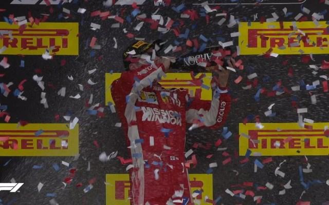 Raikkonen se alza con el GP de EE.UU. y aún no hay campeón - Foto de F1