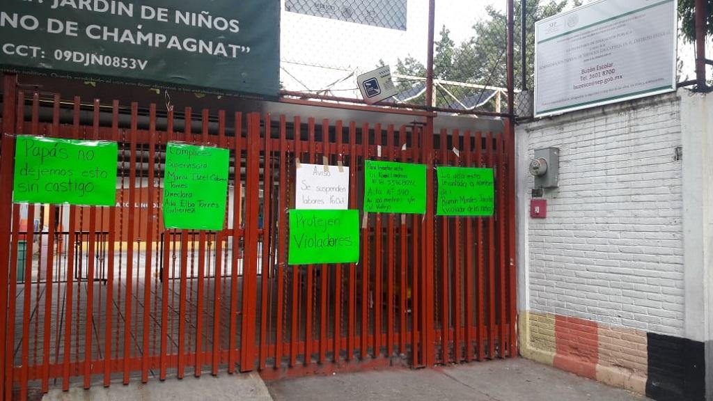 Renuevan planilla de kinder en la GAM por abusos sexuales - Kinder Marcelino de Champagnat en la GAM. Foto de Internet