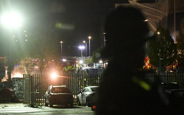 Se estrella helicóptero del presidente del Leicester City - Foto de AFP