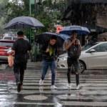 Frente frío provocará tormentas muy fuertes en el sureste del país - tormentas