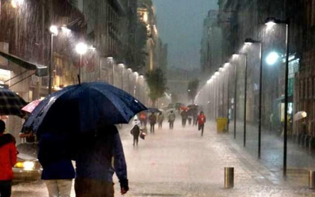 Lluvias y chubascos afectarán la Ciudad de México - Lluvias y chubascos este domingo en la Ciudad de México