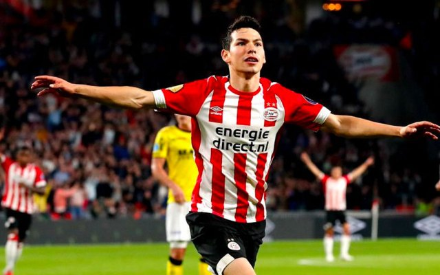 #Video 'Chucky' Lozano y Gutiérrez encaminan nuevo triunfo del PSV - Chucky Gol de Lozano con el PSV