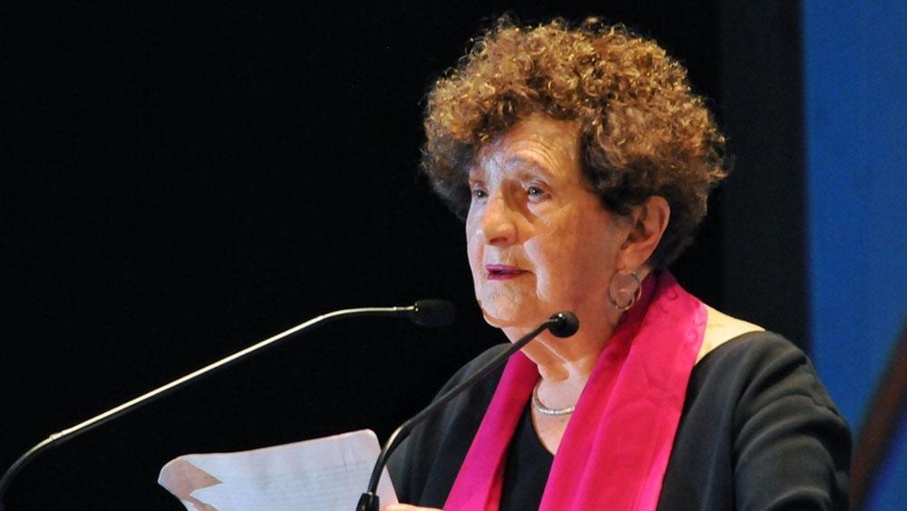 Margo Glantz renuncia a dirigir el Fondo de Cultura Económica - Margo Glantz. Foto de Cuartoscuro