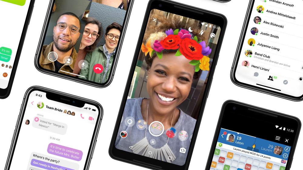 Llega Messenger 4 para usuarios de Facebook