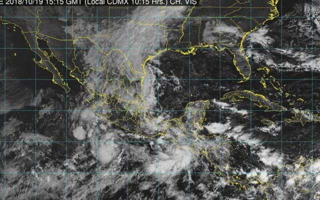Se forma tormenta tropical Vicente. Prevén lluvias intensas en Oaxaca y Veracruz - Lluvias