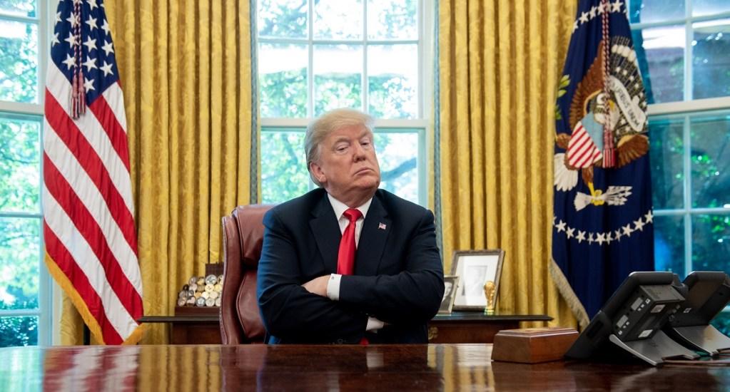 """""""Mi mayor amenaza es la Fed"""": Donald Trump - Trump confirma retiro de EE.UU. de tratado de armas nucleares con Rusia"""
