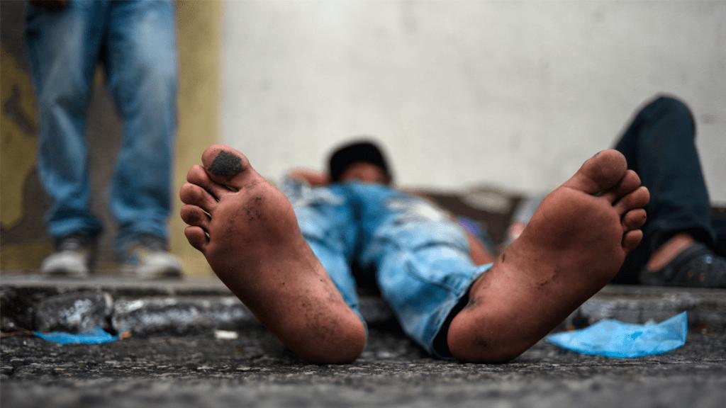 Camión atropella a migrante hondureño en Guatemala - Foto de AFP