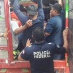 Rescatan a 99 migrantes en el Istmo de Tehuantepec; ocho son menores - Foto de Quadratín
