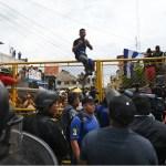 Un día difícil en la frontera sur de México - Foto de AFP
