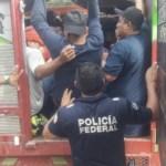 Rescatan a 99 migrantes en carretera de Oaxaca - Foto de Quadratín