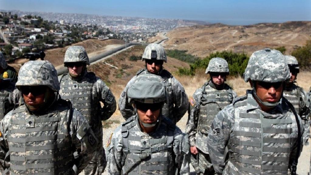 EE.UU. desplegaría hasta 15 mil efectivos en frontera con México. Foto de Internet